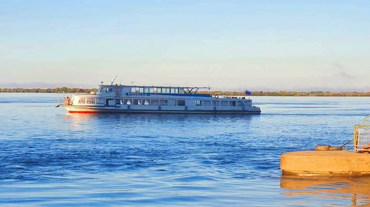 River transportation resumed in Khabarovsk after the Amur level dropped