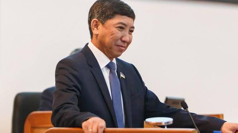 The vice-speaker of the parliament of Buryatia resigned