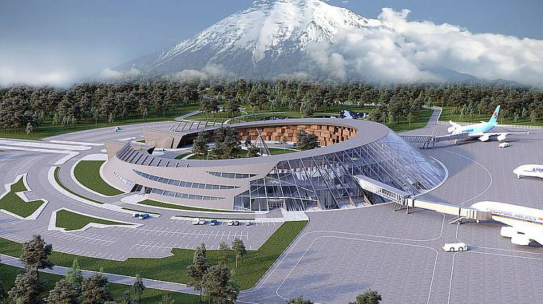 VEB.RF will invest 10 billion rubles in a new airport terminal in Kamchatka
