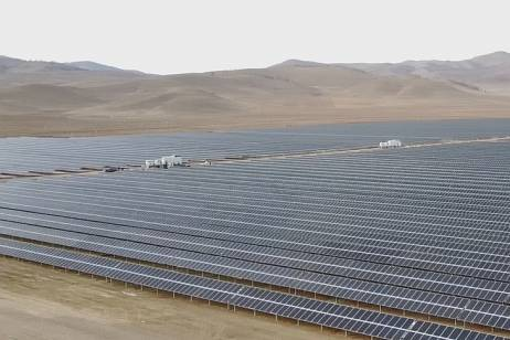 The largest solar power plant launched in Buryatia