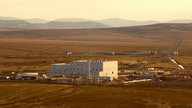In Chukotka, the tailings pond is being reconstructed