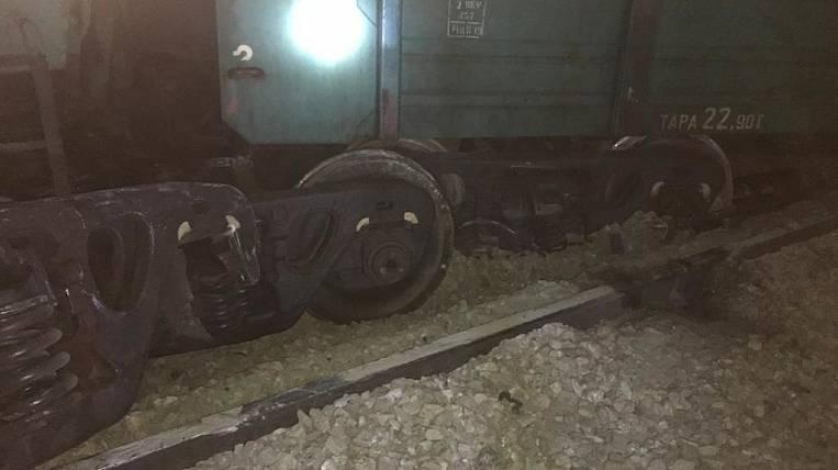 Coal wagons derailed in Amur region