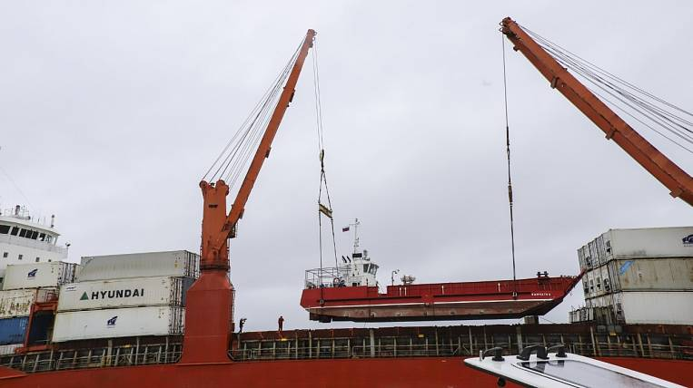 New cargo and passenger ship sent to Kamchatka