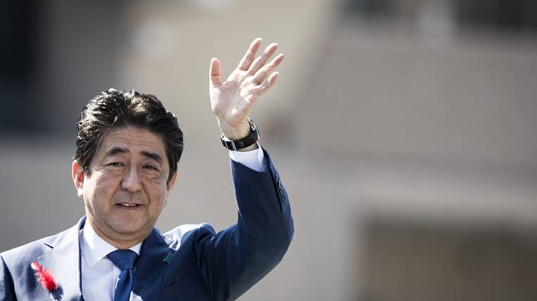 Shinzo Abe will lead the delegation of Japan at the WEF