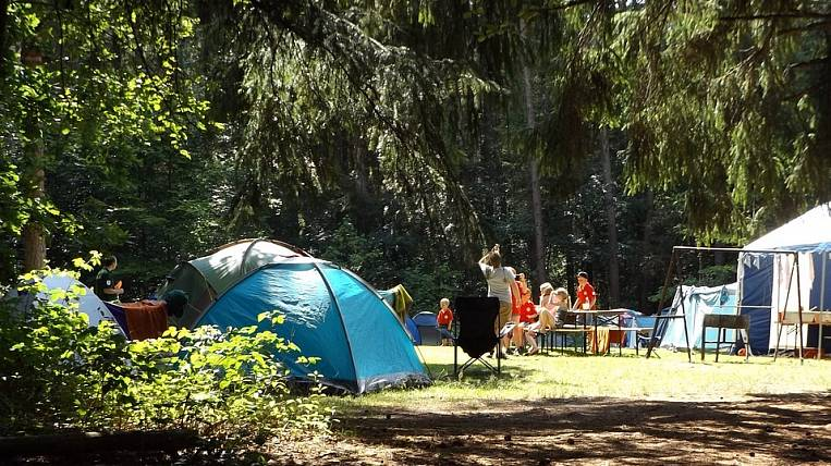 In the children's camp of the Irkutsk region revealed a broken fire alarm