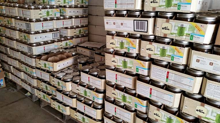 The Ministry of Agriculture instructed the regions to create a food stock for two months
