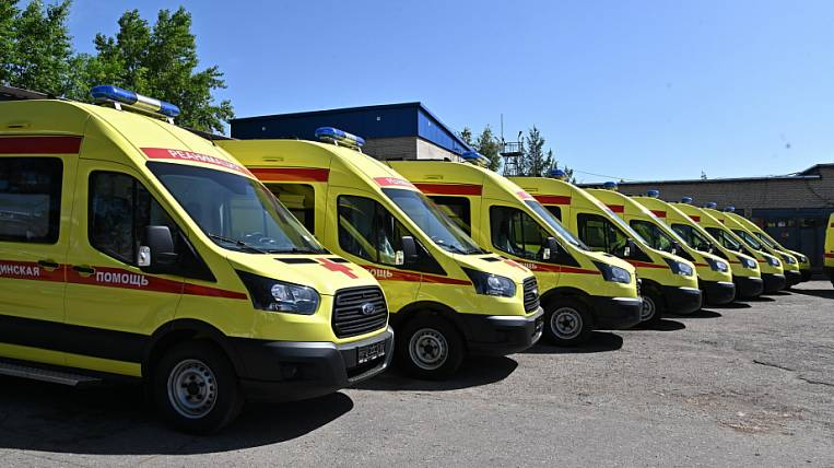 New ambulances received hospitals in the Khabarovsk Territory