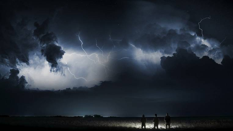 Showers and thunderstorms will linger in the Khabarovsk Territory